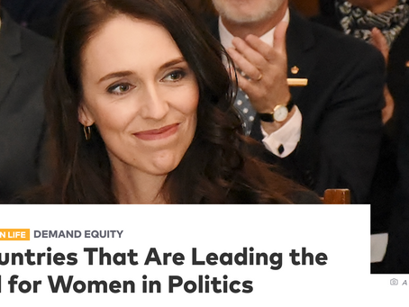 10 Countries That Are Leading the World for Women in Politics