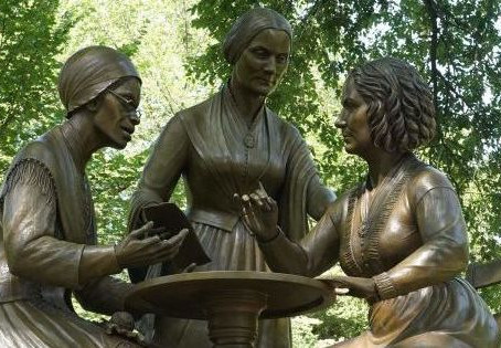 Central Park Just Unveiled Its First-Ever Statue of Real Women - Marie Claire