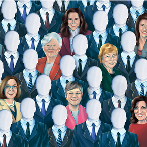 There are just 9 female governors. Both parties want change.