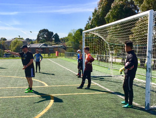 Goalkeeper Coaches. Don't be a Drill Instructor. Bounce!
