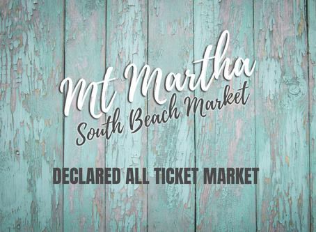 Mt Martha South Beach Market now ALL TICKET