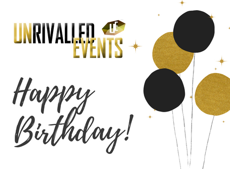 Unrivalled Events Turn 1 Year Old