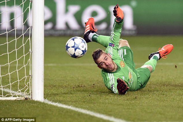 David De Gea Manchester United Goalkeeper