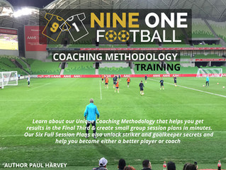 Nine One Football Coaching E-books Launched