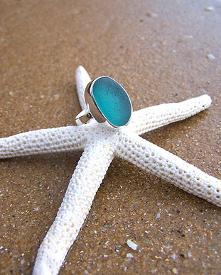 Mornington Sea Glass Ocean Teal RIng.jpg
