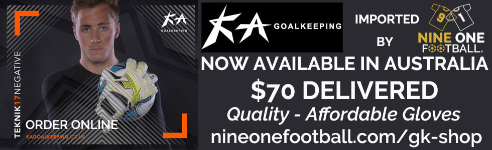 KA Goalkeeper Gloves Australia