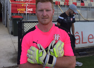 Kile Kennedy to be sponsored by KA Goalkeeping