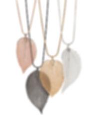 Real leaf necklaces.jpg