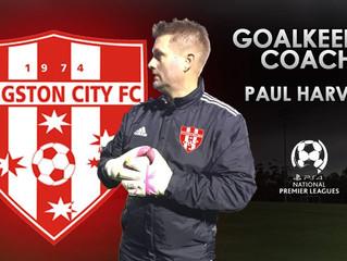 Nine One Football Head Coach Paul Harvey joins Kingston City