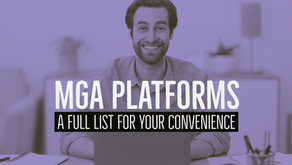 MGA Platforms - A Full List For Your Convenience