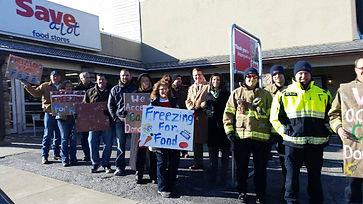 Food Pantry drive volunteer