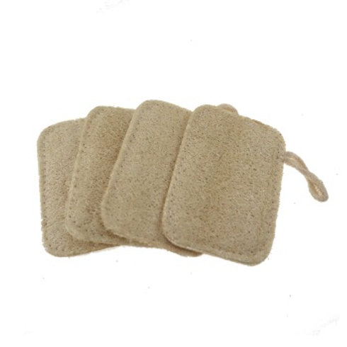 NATURAL FLAT SQUARE LOOFAH