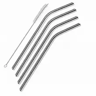 STAINLESS STEEL STRAW- BENT
