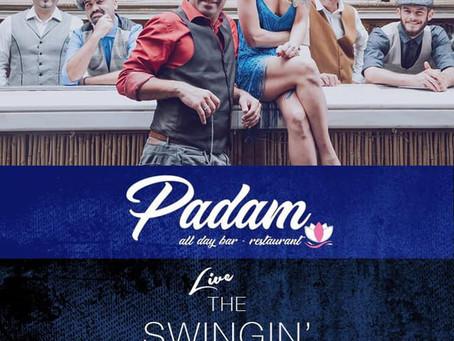 The Swingin' Cats 12/4 @ Padam Γλυφάδα