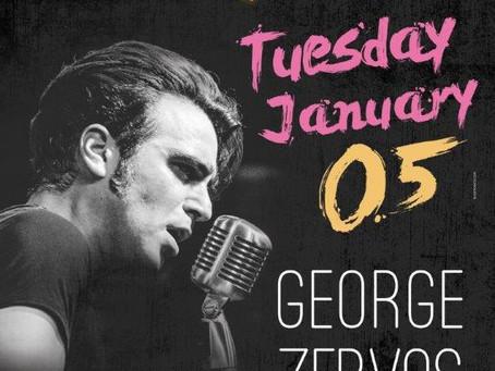 GEORGE ZERVOS LIVE 5/1 @Bourbon