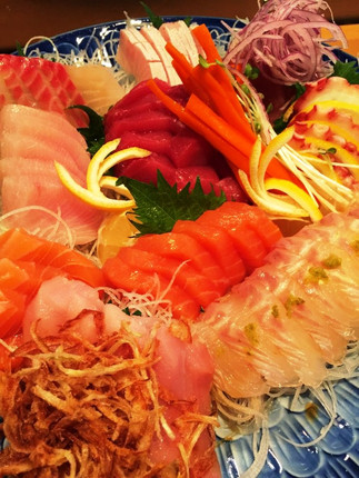 HOUSE SPECIAL SASHIMI PLATE