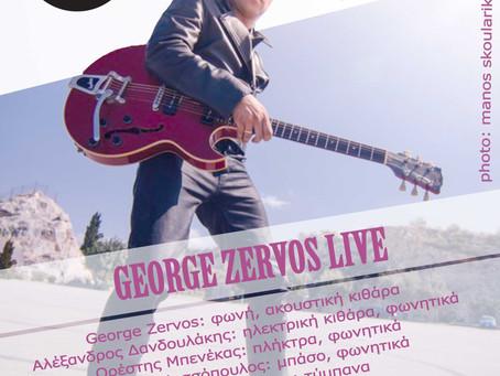 GEORGE ZERVOS LIVE 5/2 @Floral
