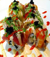 SPECIAL SPICY RAINBOW ROLL