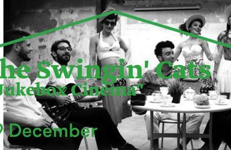 "The Swingin' Cats ""Jukebox Cinema"", Πεμ 29/12 Gazarte Roof Stage"