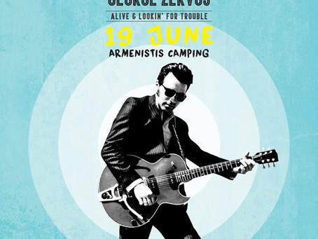 Elvis is around & Lookin' for Trouble      by George Zervos @ Armenistis Camping