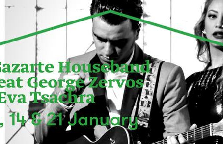 """Glam Nights"" George Zervos ft Eva Tsachra 24,25,31 Dec. & 1 Jan. at Gazarte Roof Stag"