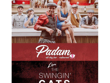 The Swingin' Cats 20/4 @ Padam Γλυφάδα
