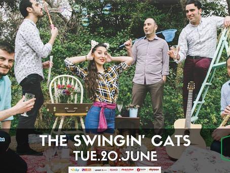 The Swingin' Cats live at Gazarte 20/6