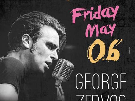 George Zervos Live Fri. 6/5 @ Bourbon Bar (Γλυφάδα)