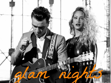 "Gazarte Houseband ""Glam Nights"" George Zervos & Eva Tsachra Sat. 14 Jan. at Roof Stage"