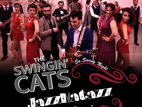 "The Swingin' Cats & Jazzmatazz ""So Swing Night"" 29/1 @ ΙΛΙΟΝ plus"