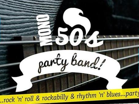 MONO 50's Band Live 4/12 @ Rock & Balls