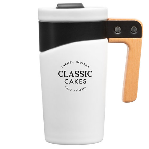 Grotto Ceramic Travel Mug, 16 oz
