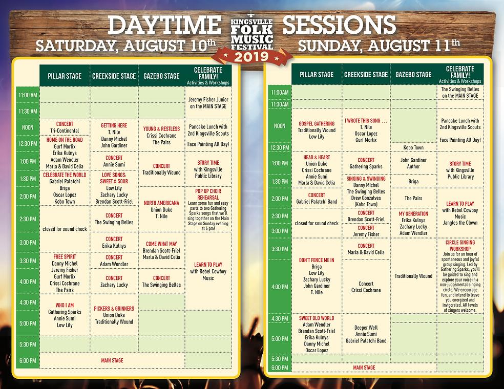 Kingsville Folk Fest Schedule.png
