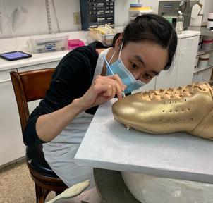 3D sculpted shoe