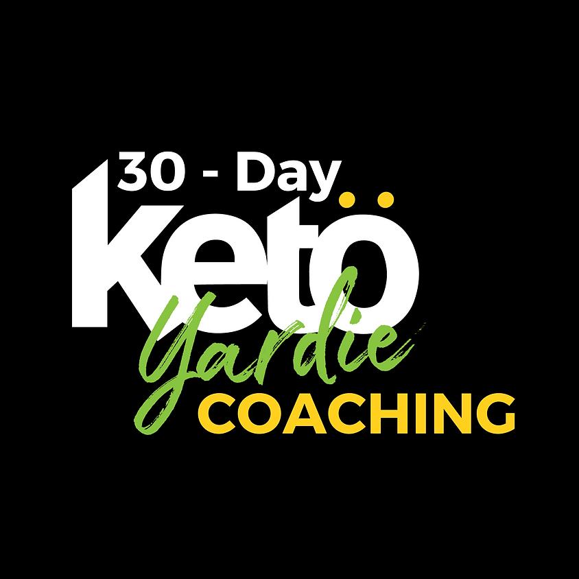 1 on 1 Keto Coaching June