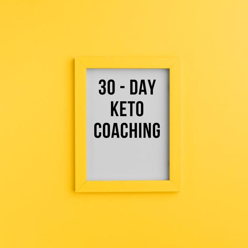 Closed Keto Yardie's 30-day Keto Coaching - November