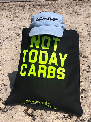 """Not Today Carbs"" Canvas Bag"