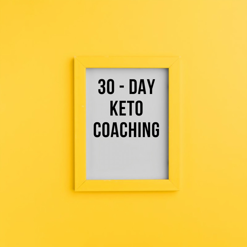 Keto Yardie's 30 day - 1 on 1 Keto Coaching September