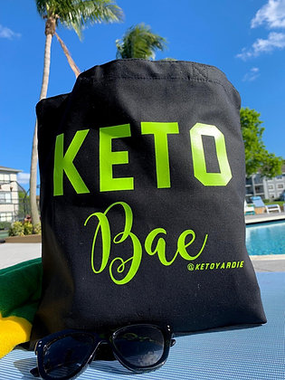 """""""Keto Bae"""" Canvas Bag"""