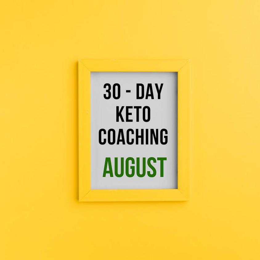 Keto Yardie's 30-day Keto Coaching - August