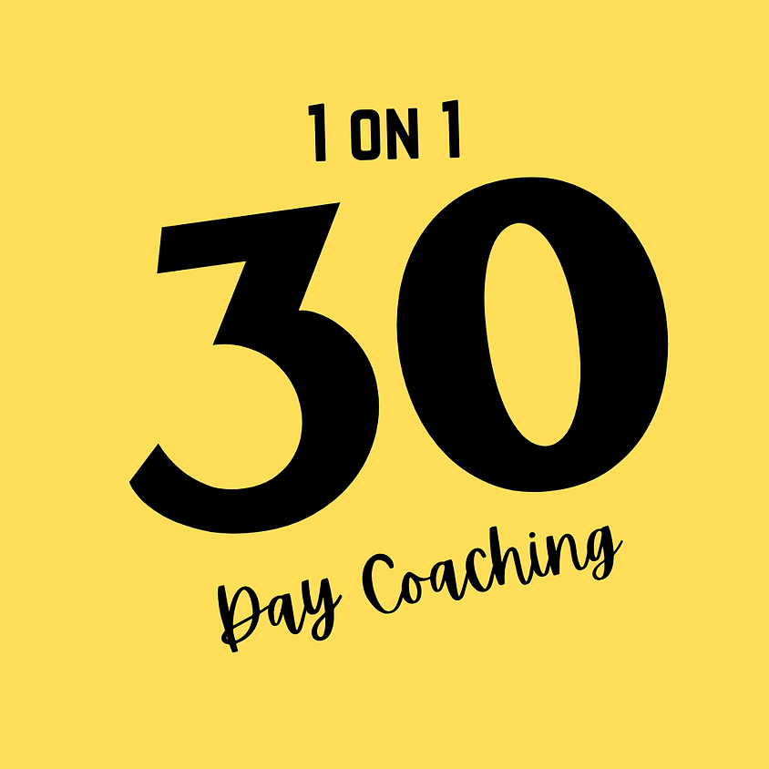 Keto Yardie's 30 day - 1 on 1 Keto Coaching October