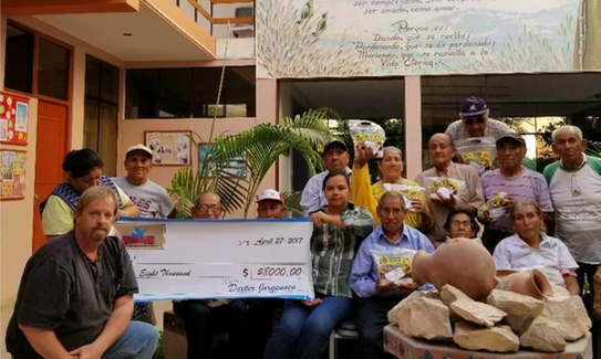 Thanks to your donations, we donated over $6,000 to a Nursing Home in Central America that not only helps the elderly but does wonderful things for the poor people in that community