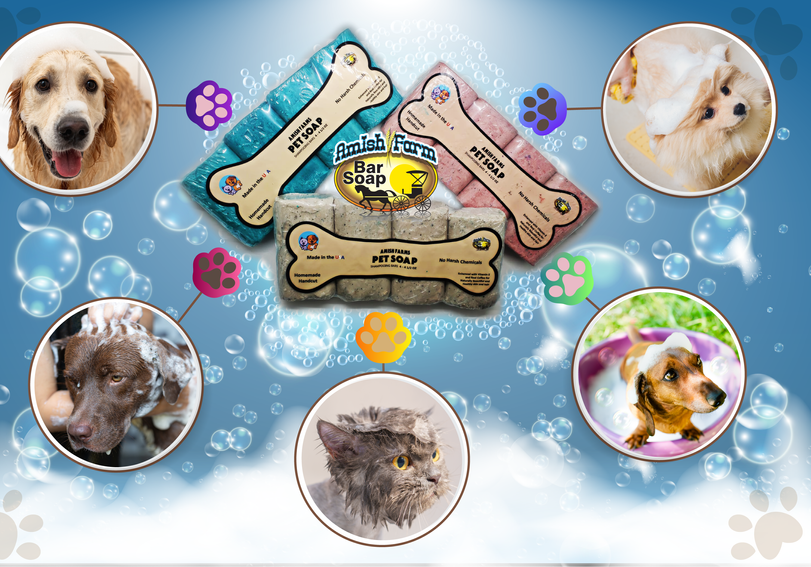 4-Bars Pet Soap with Vitamin E & Real Coffee