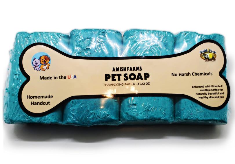 Blue Pet Soap