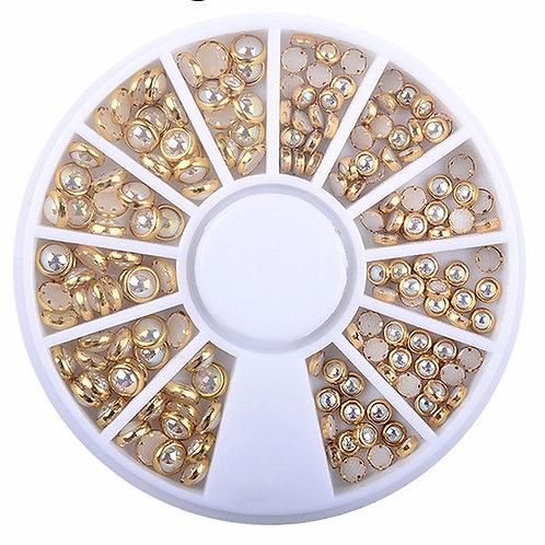 Roulette de pierres décoratives