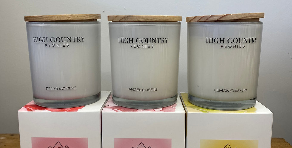 High Country Peony Candles