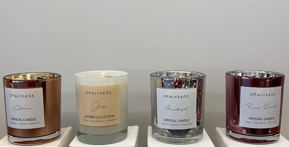 Opal and Sage Candles