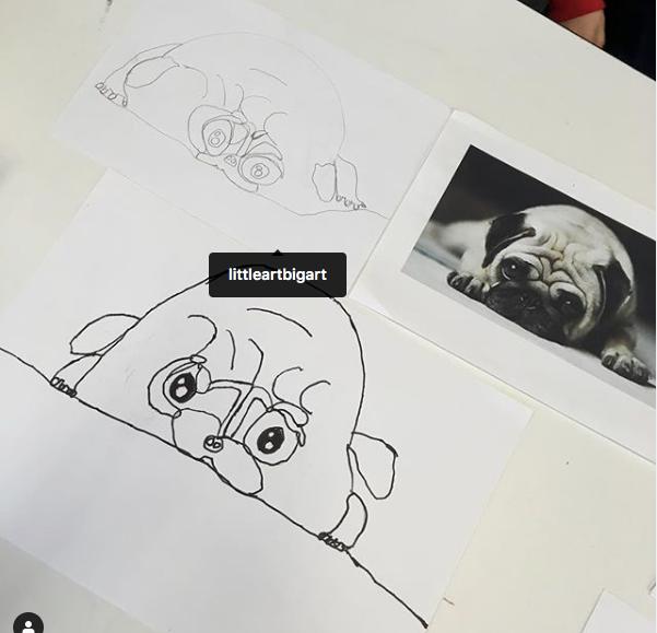 Junior Draw & Paint Club 5-8 yrs TERM 3