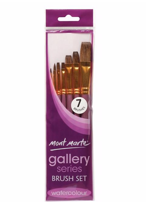 Gallery Series Brush Set Watercolour 7pce
