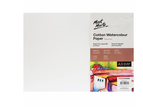 Premium Cotton Watercolour Paper 300gsm